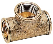 BRASS  T CONNECTOR 1.1/2""