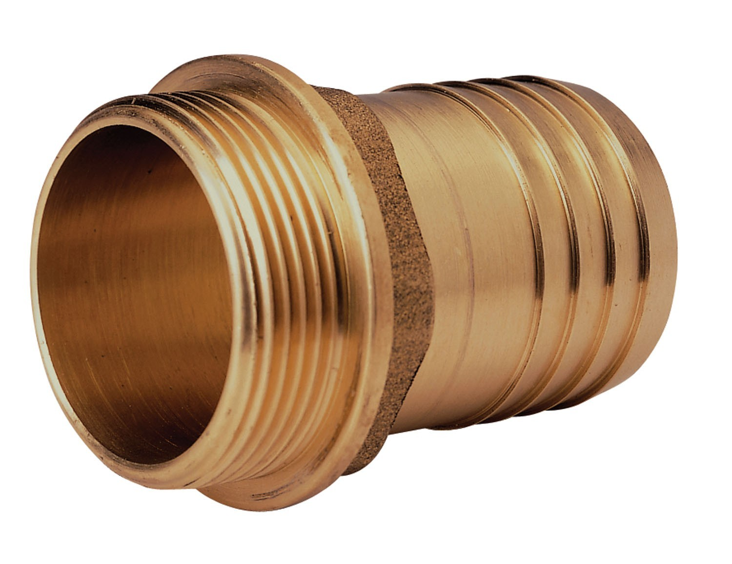 "BRONZE HOSE CONNECTION M.END EXTRA 3/8"" X 15"